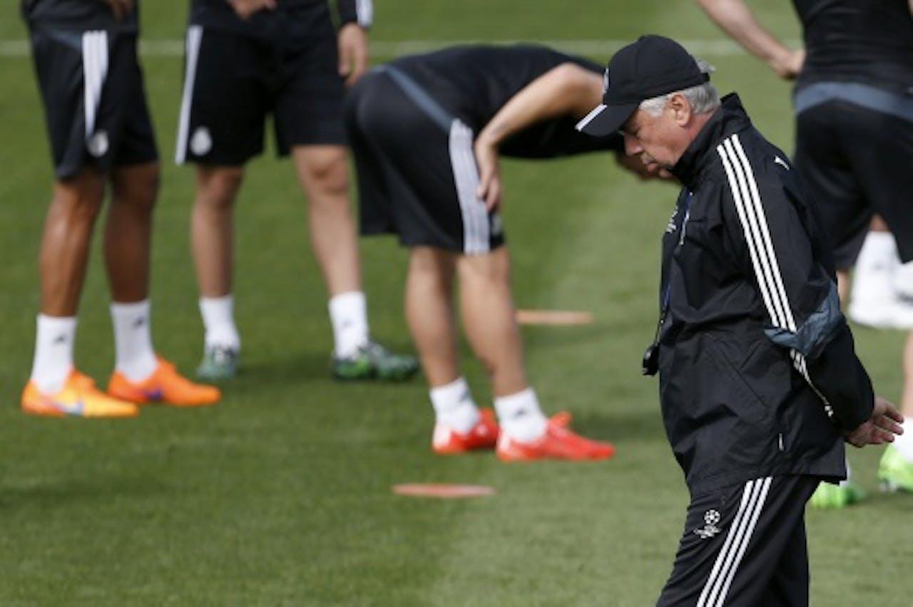 EPA Atlético coach Carlo Ancelotti