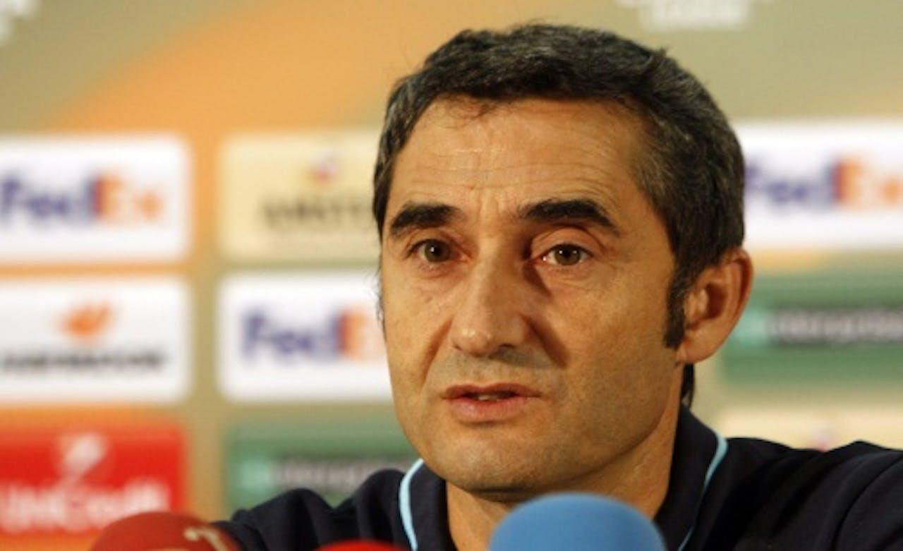 Trainer Ernesto Valverde van Athletic Bilbao. EPA