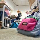 rugzak school middelbaar onderwijs