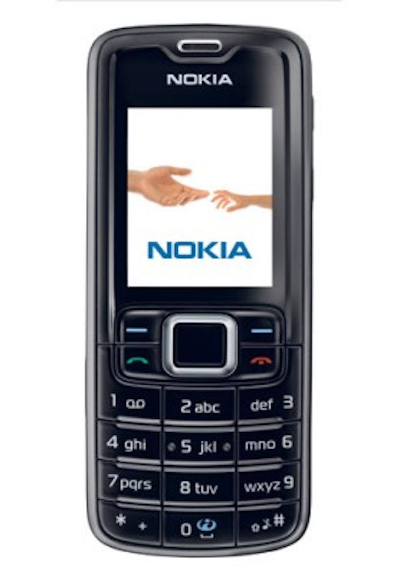 De Nokia 3310 Classic uit 2007.