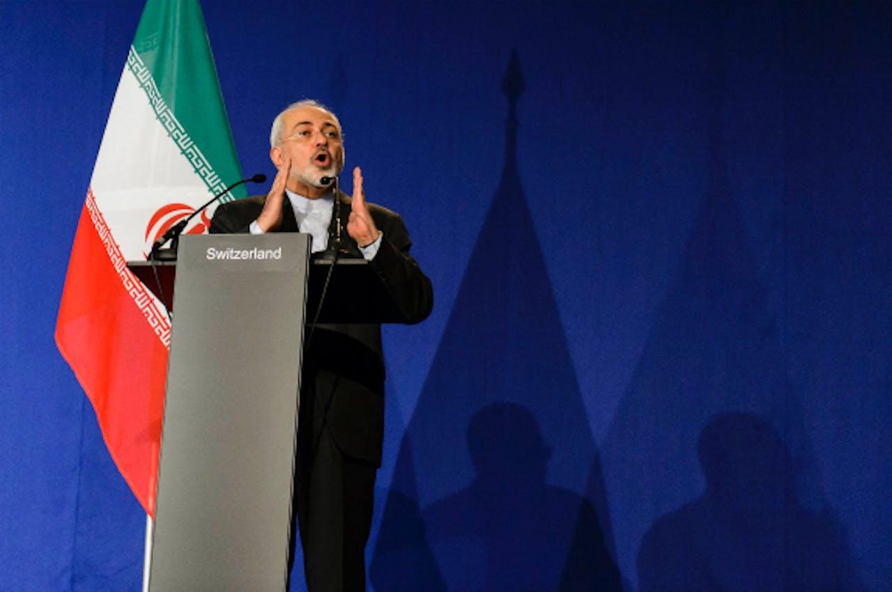 Foto: ANP/EPA - Zarif, minister van Buitenlandse Zaken van Iran