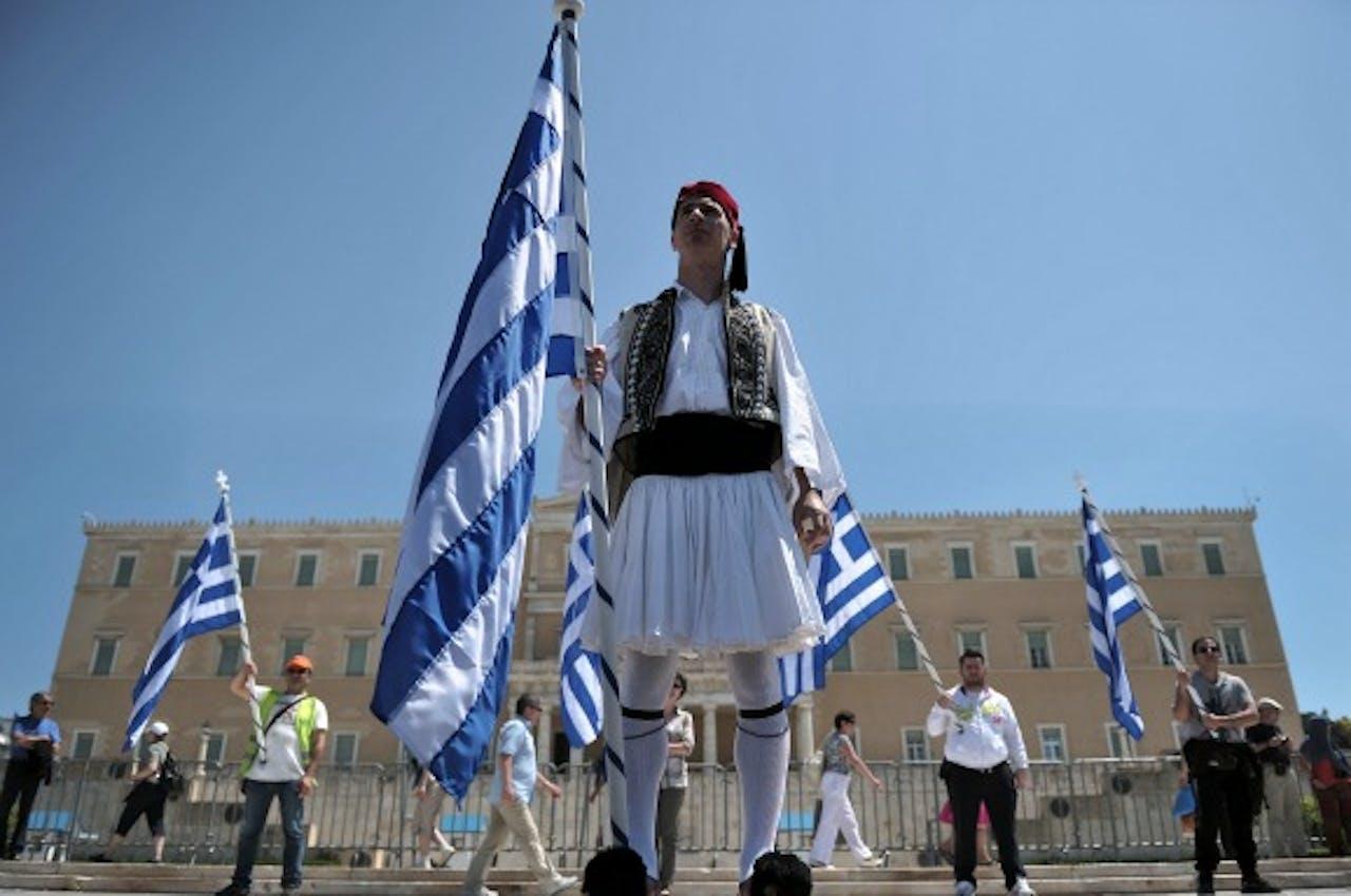 Pensioenen buiten discussie voor Grieken