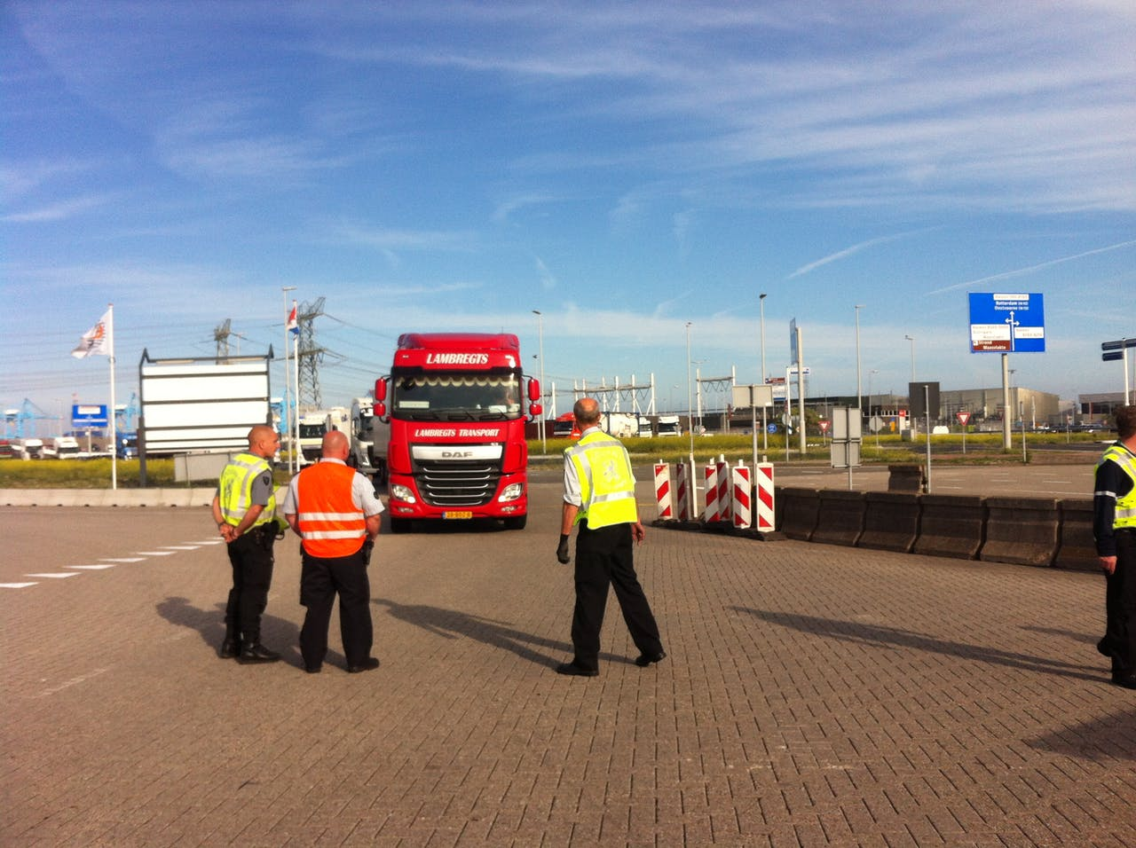Douane voert actie in de Rotterdamse haven