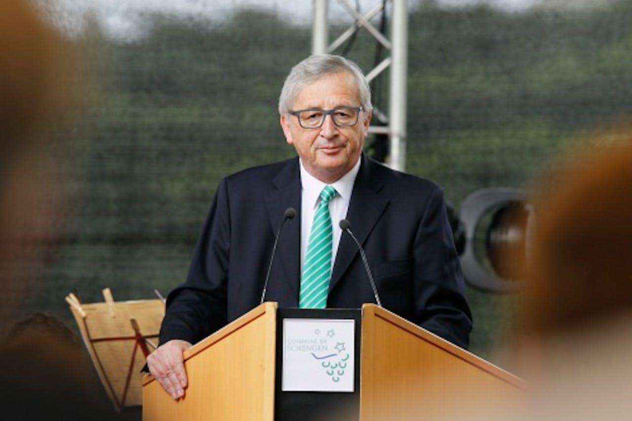 Commissievoorzitter Jean-Claude Juncker. EPA