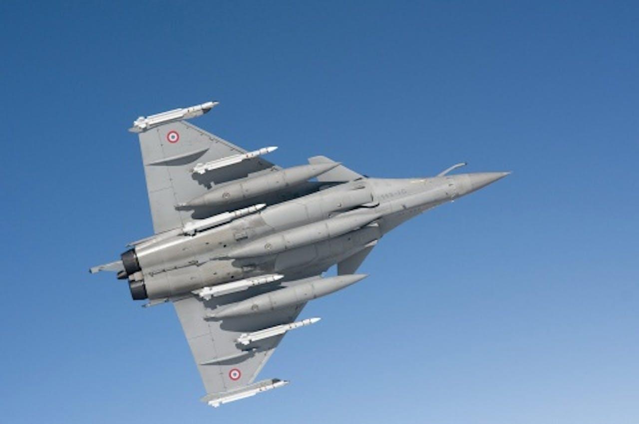 EPA Archiefbeeld Rafale-straaljager van het Franse leger.
