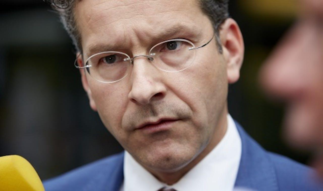 Eurogroepvoorzitter Jeroen Dijsselbloem (ANP)