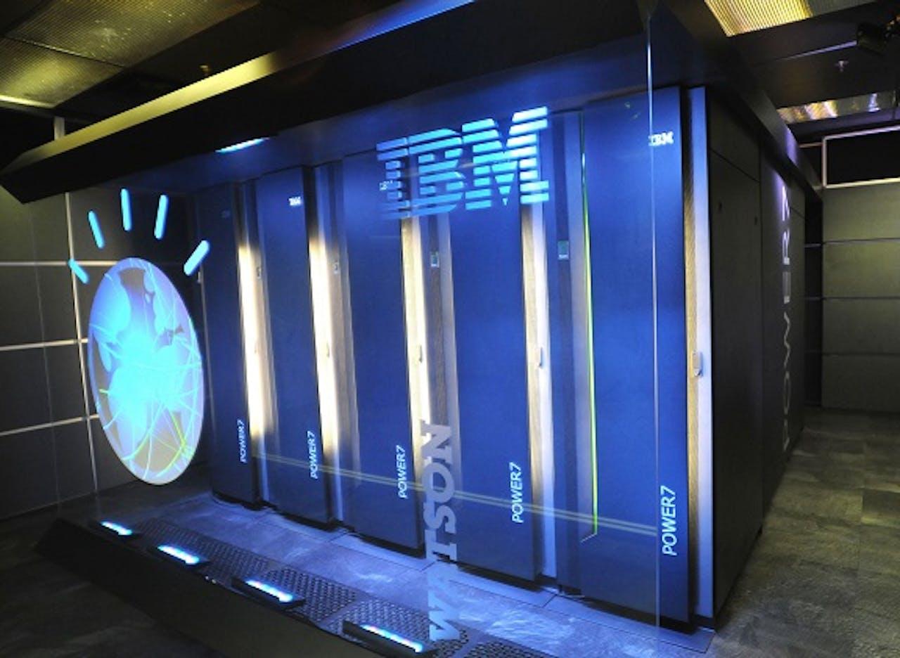 Supercomputer Watson. Foto: ANP