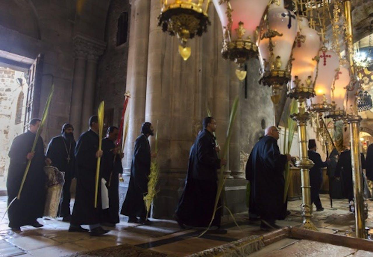 Archiefbeeld van Assyrische christenen. EPA