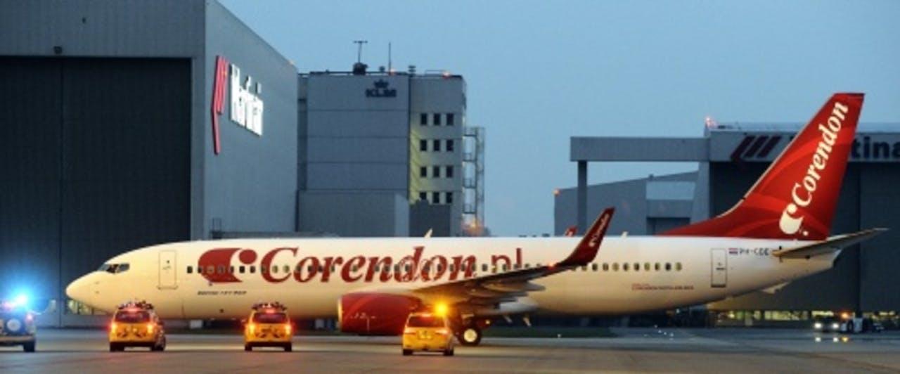 Een toestel van Corendon (archieffoto, april 2011). ANP
