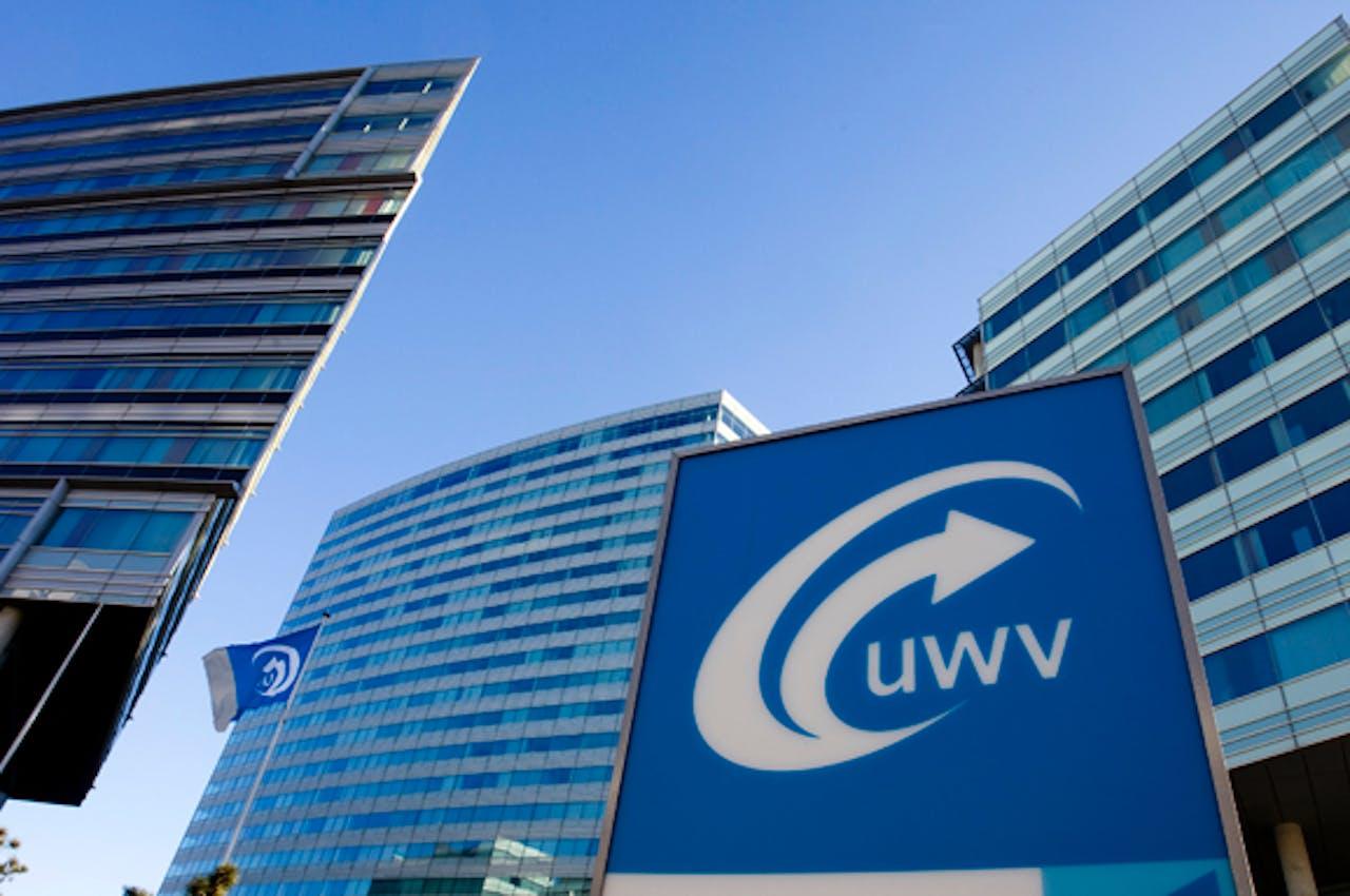 Het hoofdkantoor van UWV in Amsterdam.