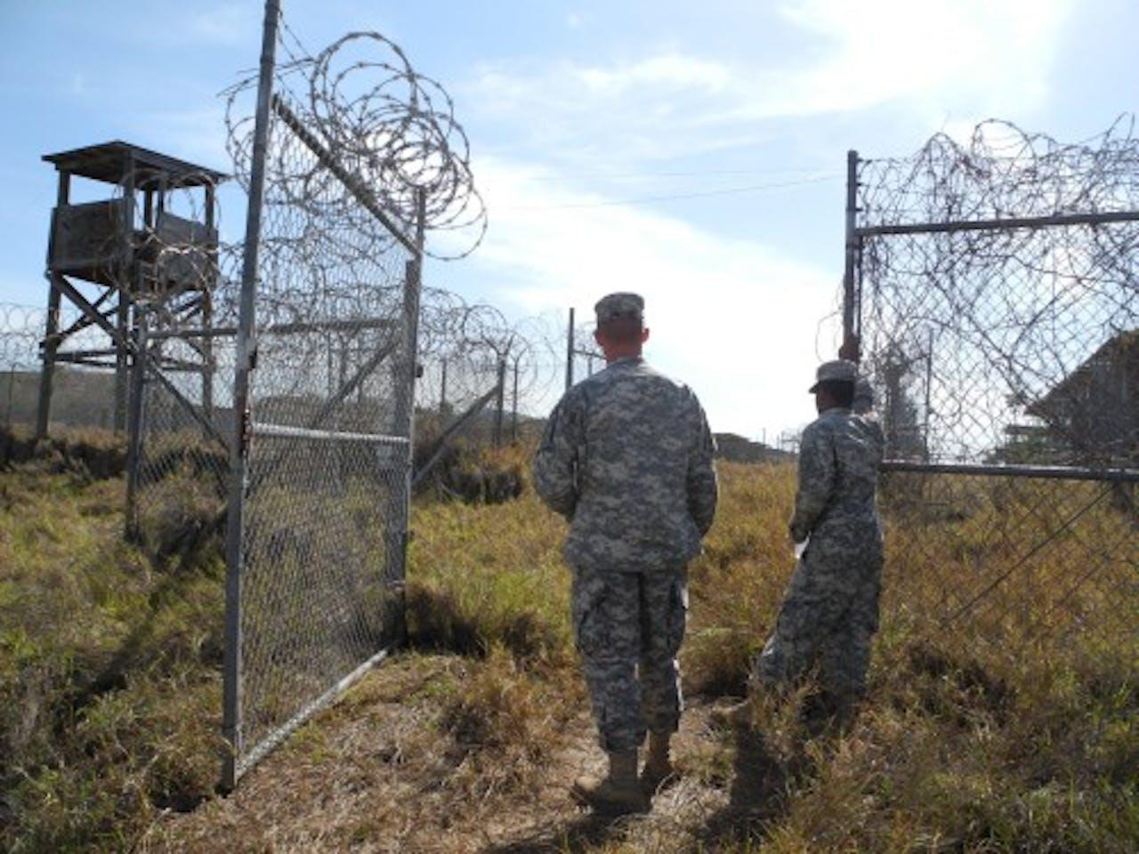 Archiefbeeld Guantánamo Bay (EPA)