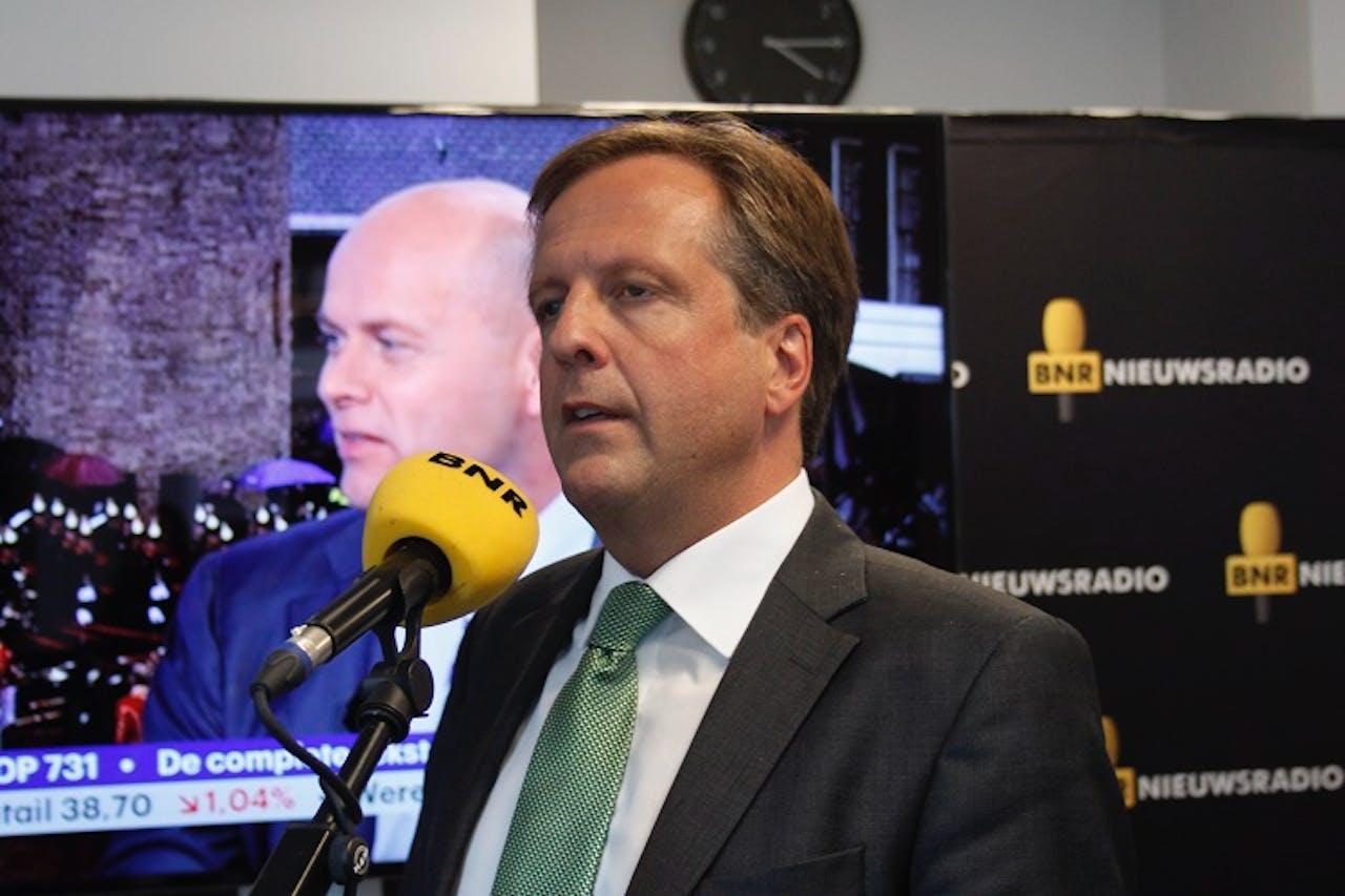 Minister Pechtold. Foto: BNR