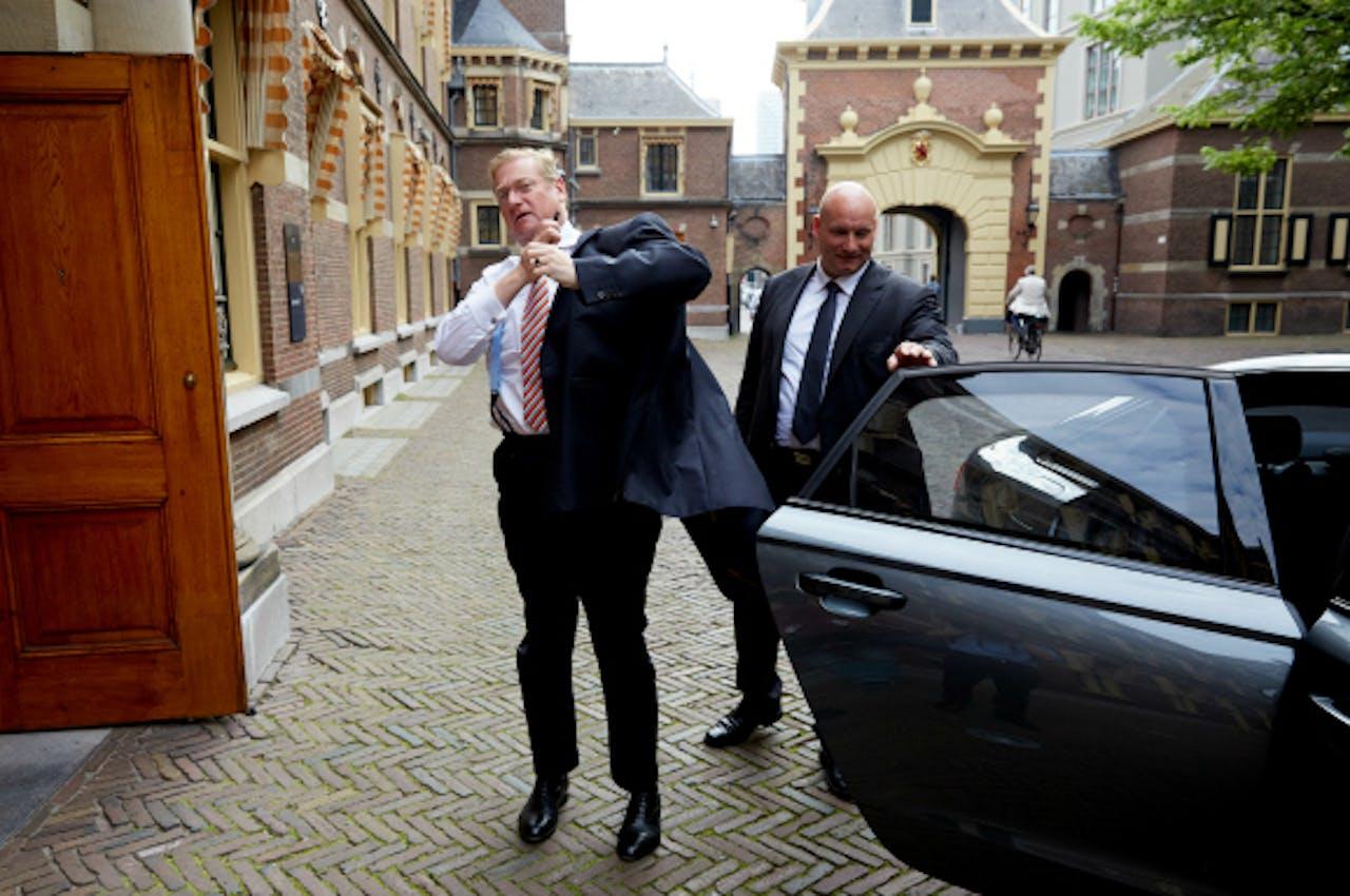 Minister Van der Steur. Foto: ANP