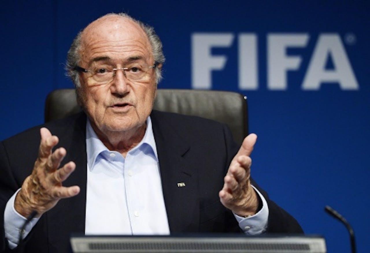 FIFA-voorzitter Sepp Blatter. EPA