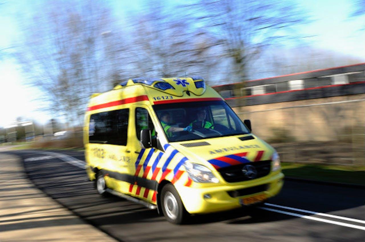 Ambulances in het verkeer, niet altijd gaat het goed