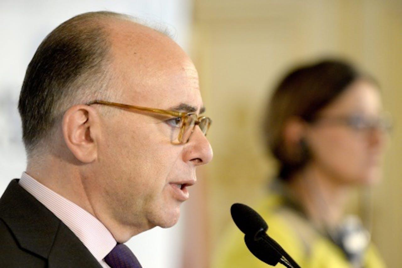 Bernard Cazeneuve. EPA
