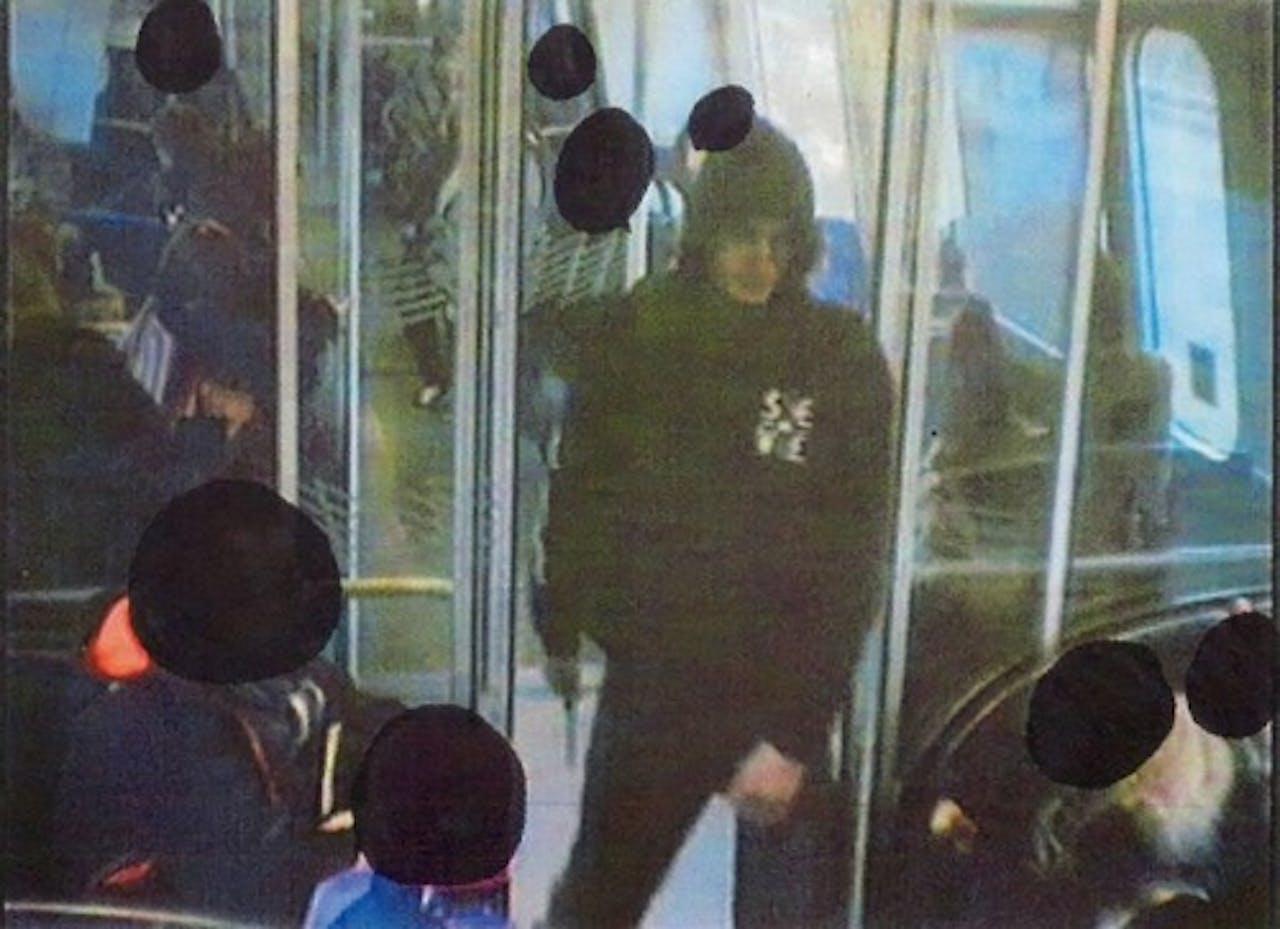 EPA Ongedateerde foto van verdachte Omar el-Hussein.