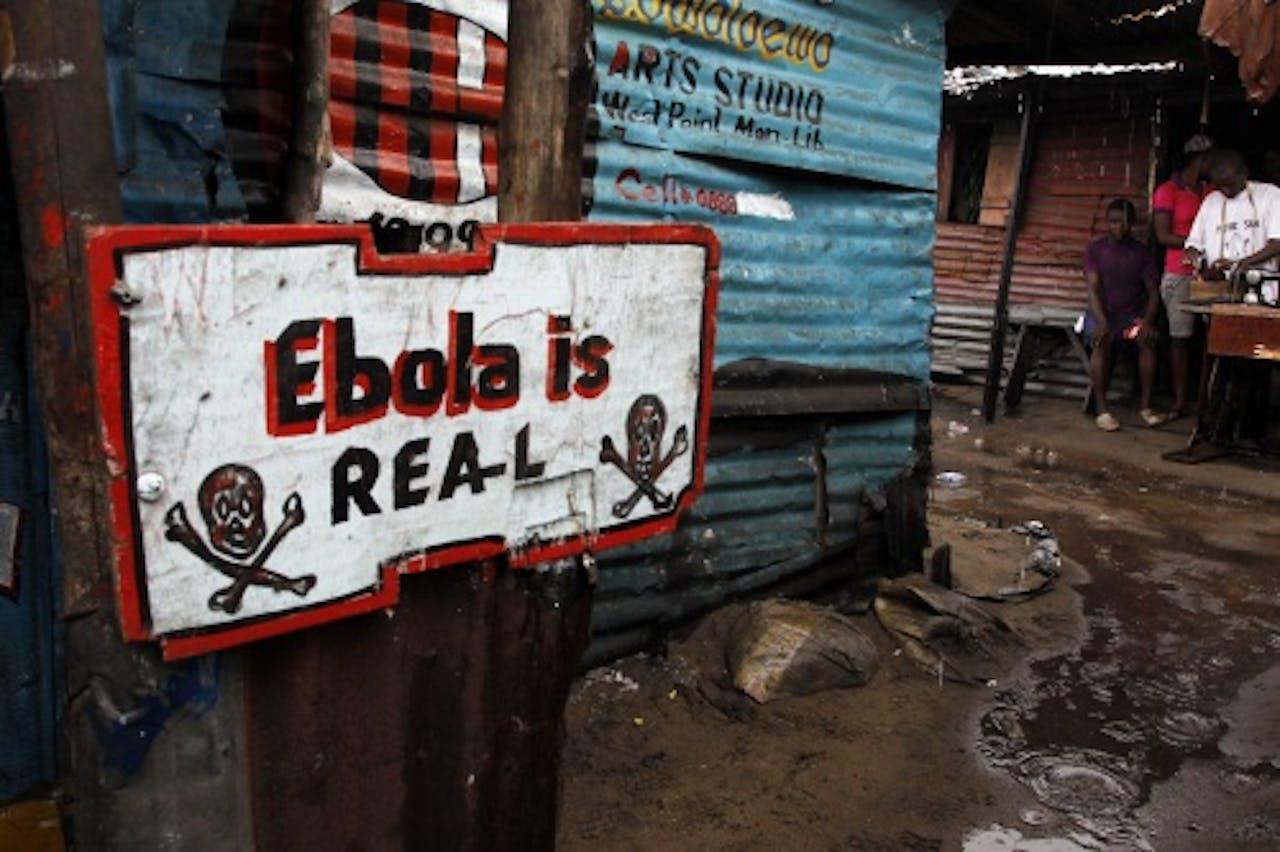 Archiefbeeld van ebola in Sierra Leone. EPA