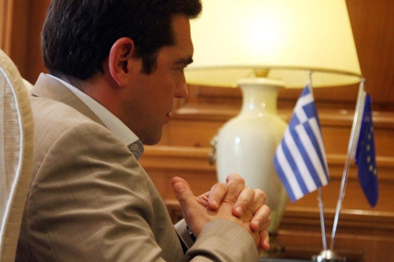 Zorgen om Griekenland. EPA