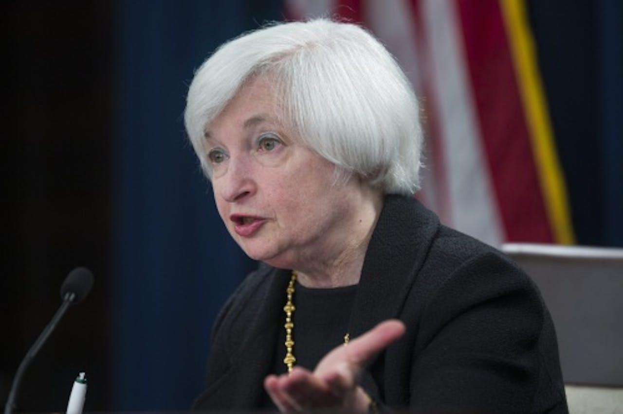 Janet Yellen, topvrouw van de Fed. EPA