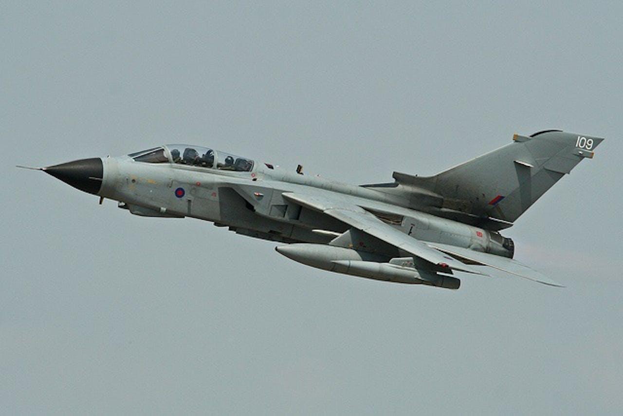 Foto: Royal Airforce Tornado GR4. Bron: Flickr