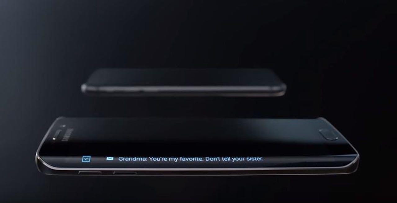 Afbeelding uit video Samsung
