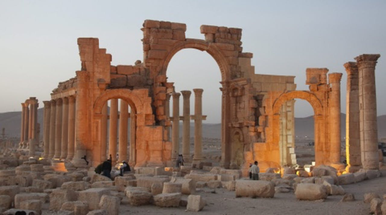 Archiefbeeld Palmyra. EPA