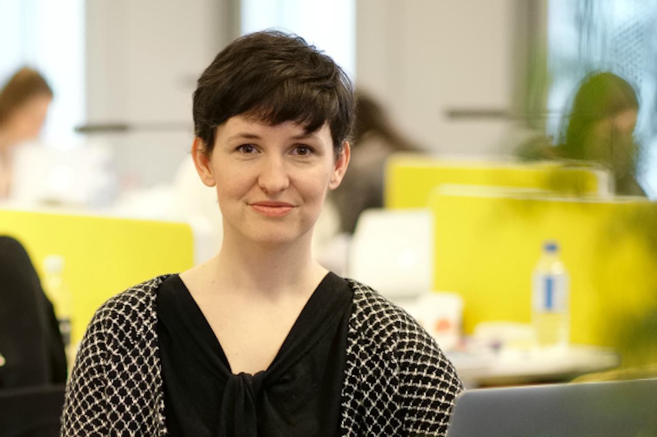 Esther Keymolen (Foto: Tim Leguijt, met dank aan Erasmus Universiteit)