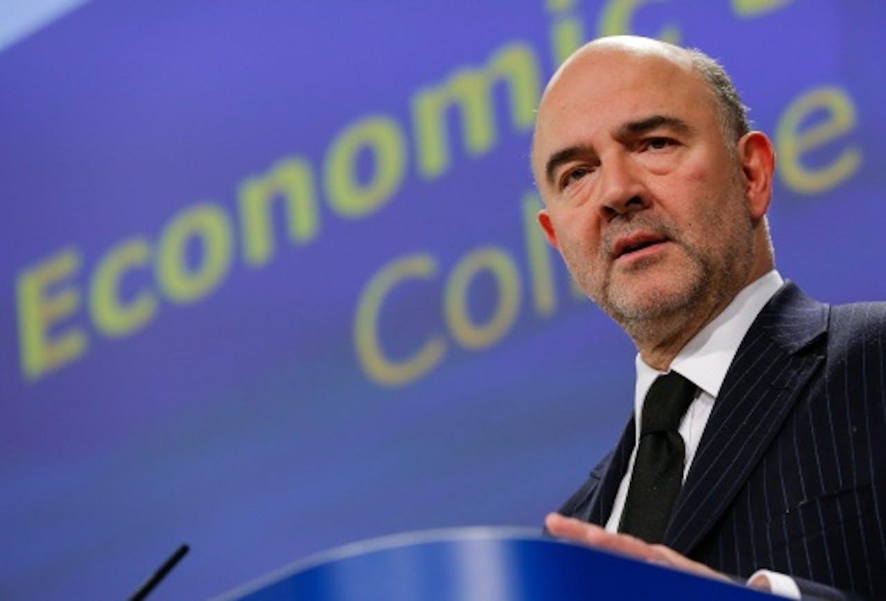 Pierre Moscovici. EPA