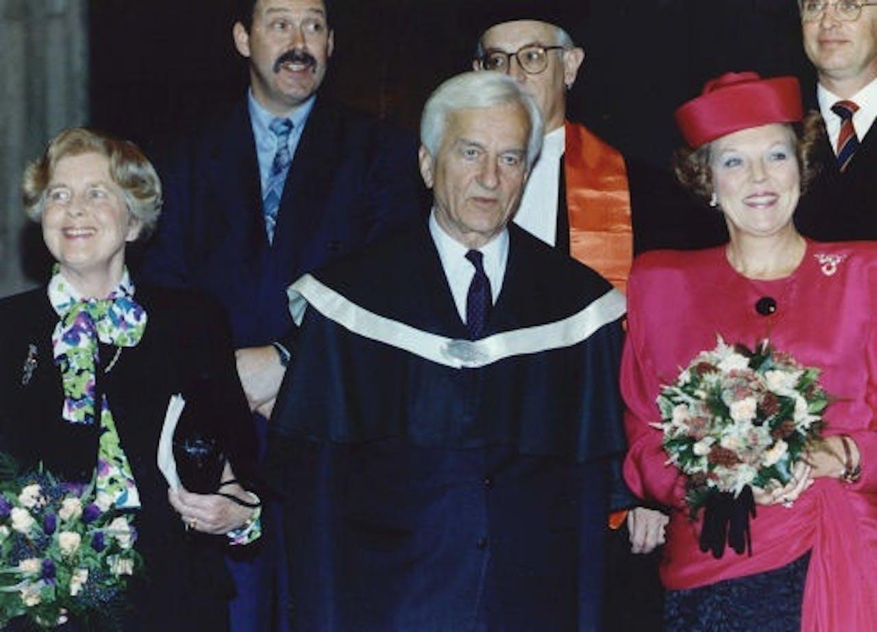 Richard von Weizsäcker in 1991. ANP