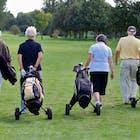 ouderen pensioen golf