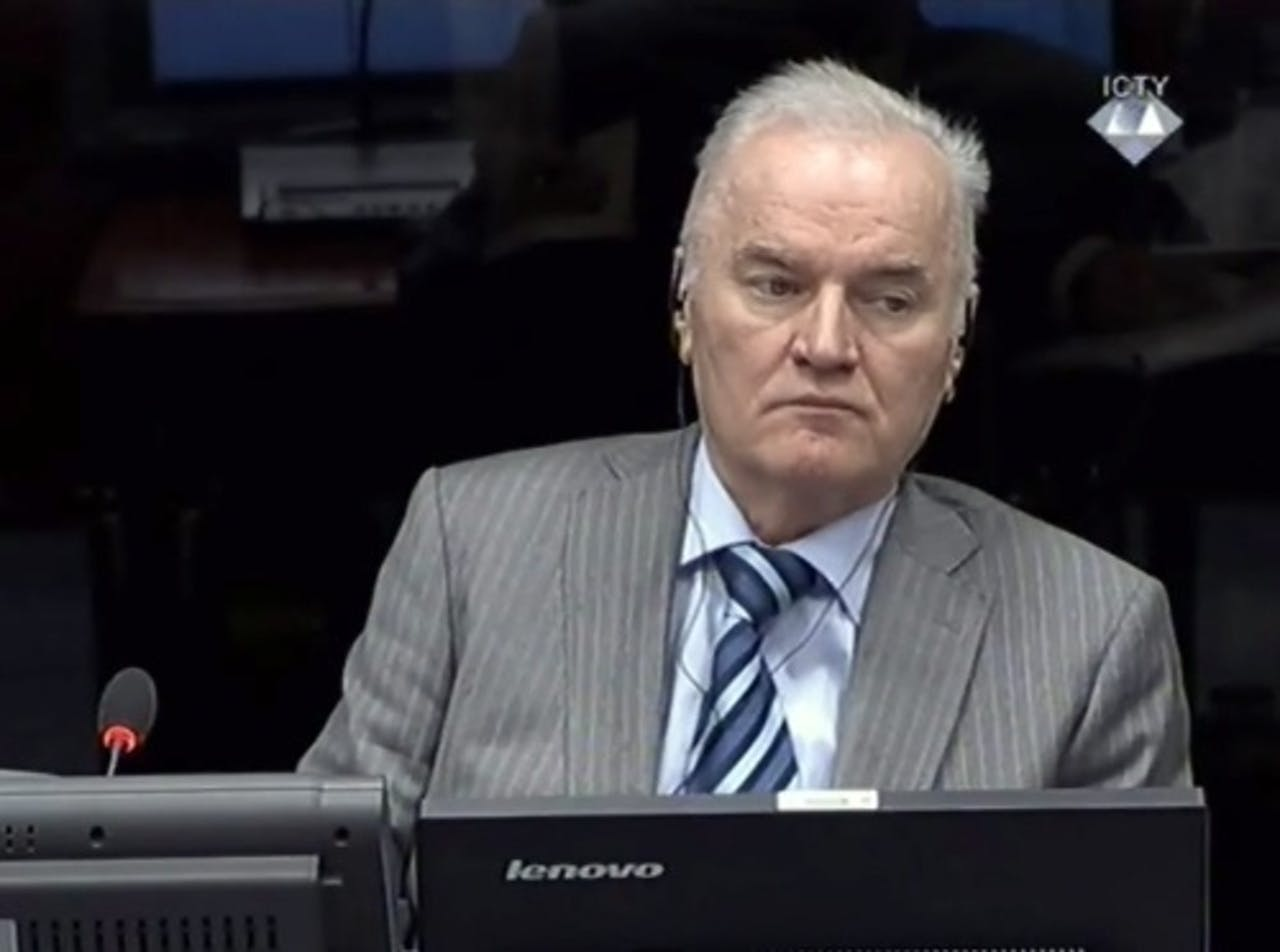 Ratko Mladic. EPA