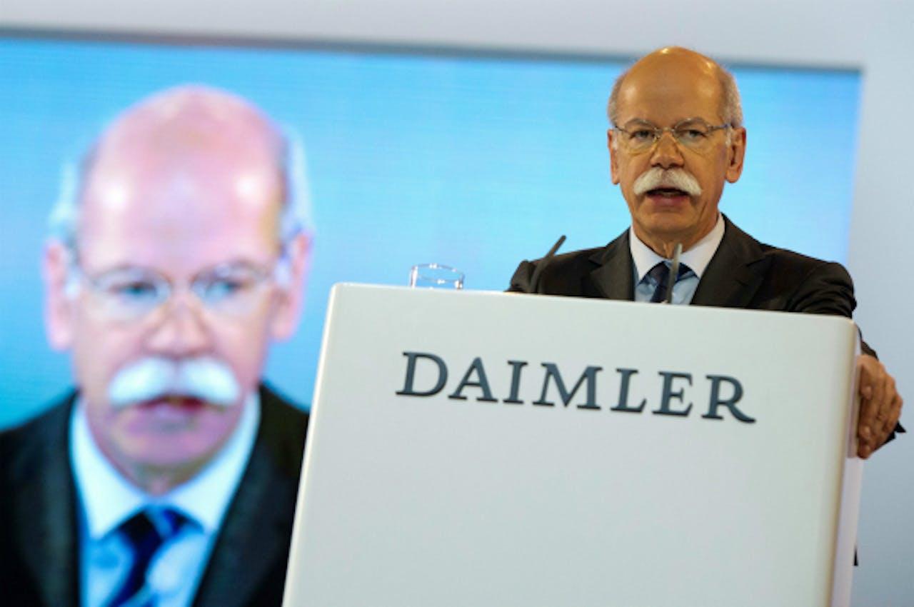 Foto: ANP/EPA - CEO Dieter Zetsche