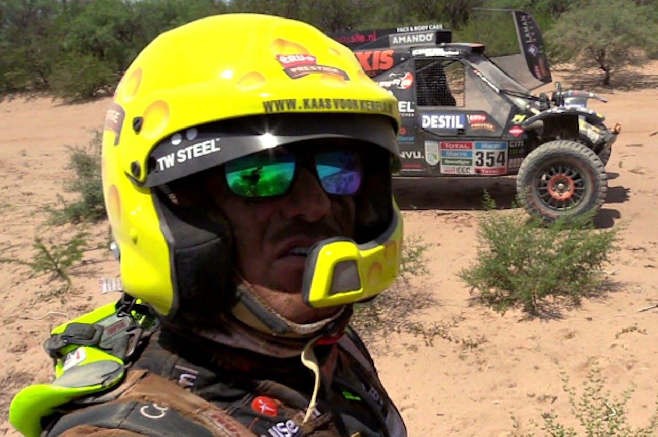 Tom Coronel tijdens de Dakar Rally (foto: RTL 7)