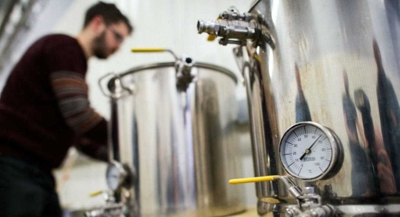 Bierbrouwerij. Foto: ANP