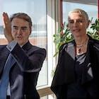CEO Air France-KLM Alexandre de Juniac en staatssecretaris Mansveld.jpg
