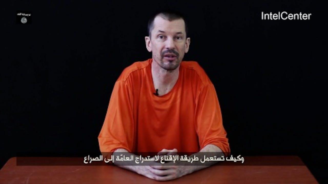 John Cantlie. EPA