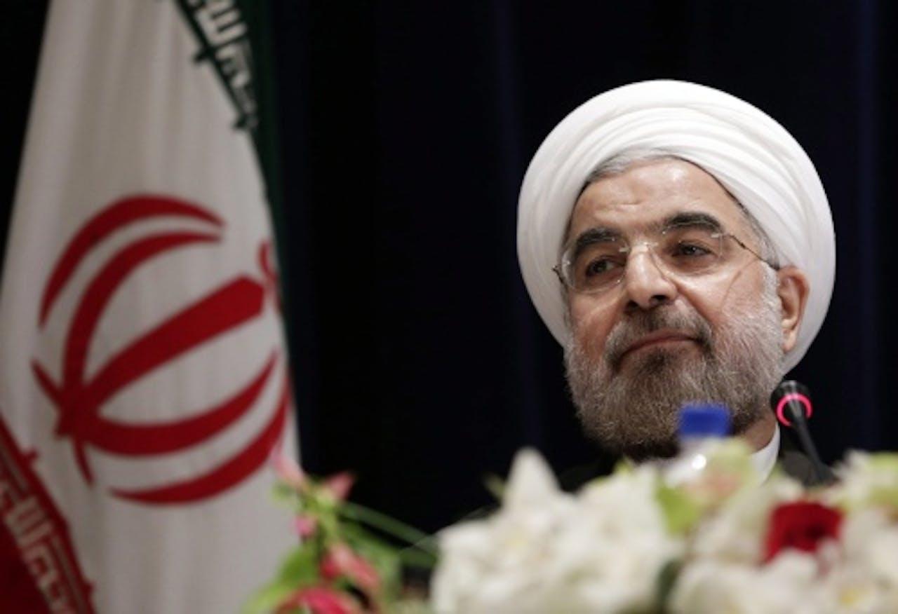 President Rohani van Iran. EPA