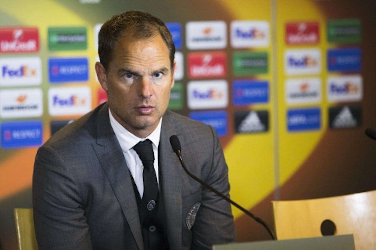 Ajax-trainer Frank de Boer (ANP)