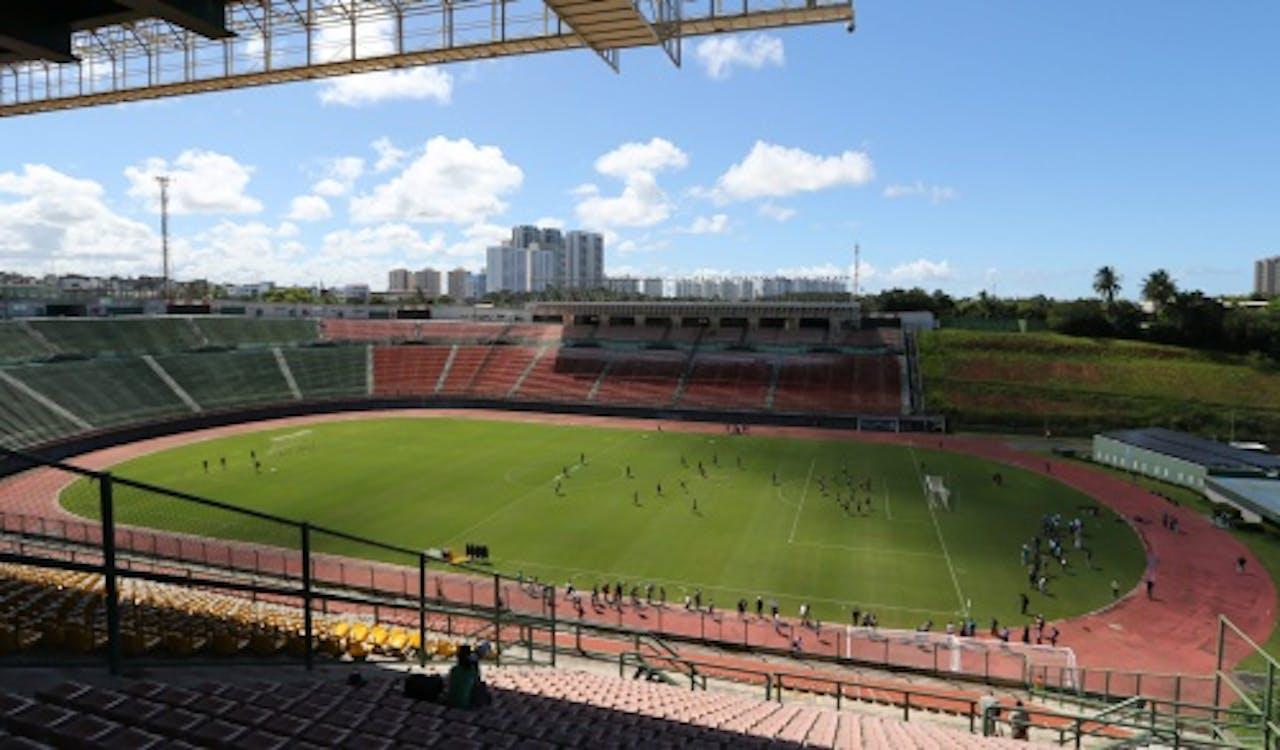 Archieffoto stadion Salvador. EPA