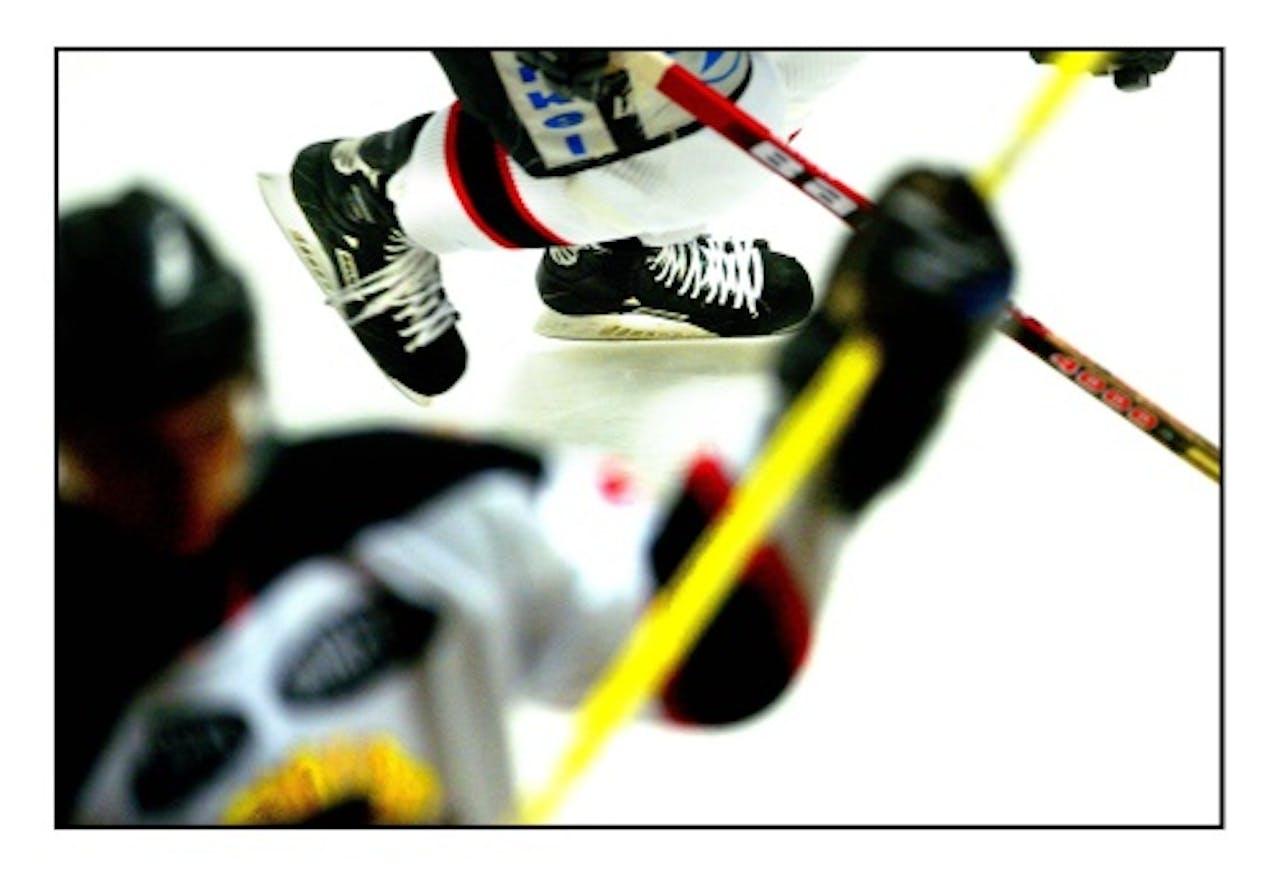 Archiefbeeld van ijshockey. ANP
