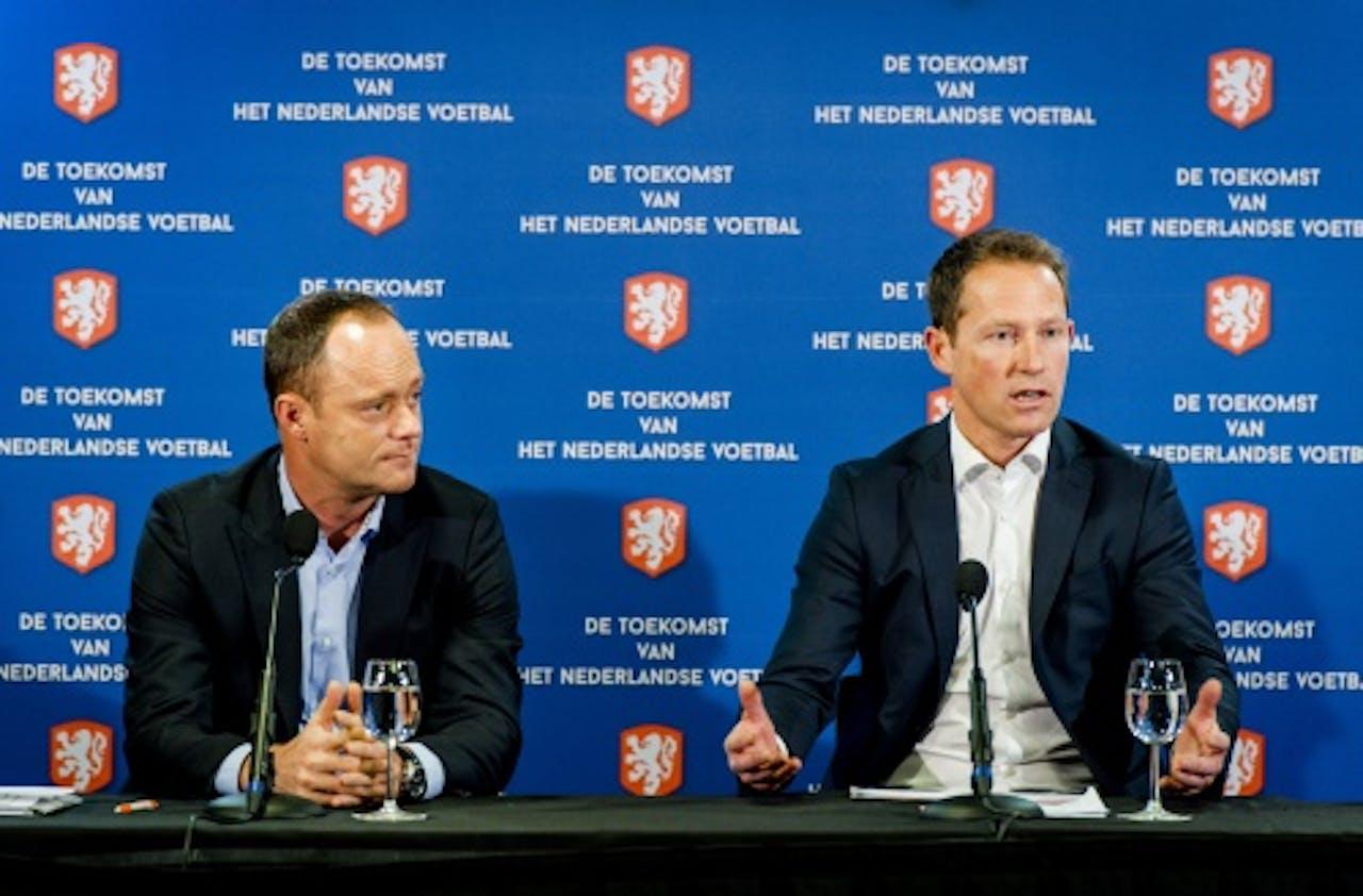 Bert van Oostveen en Jelle Goes (R). ANP