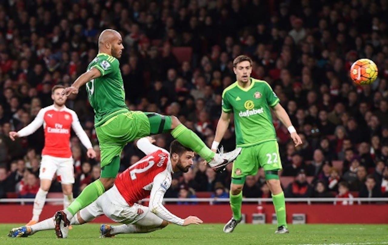 Arsenal versus Sunderland EPA