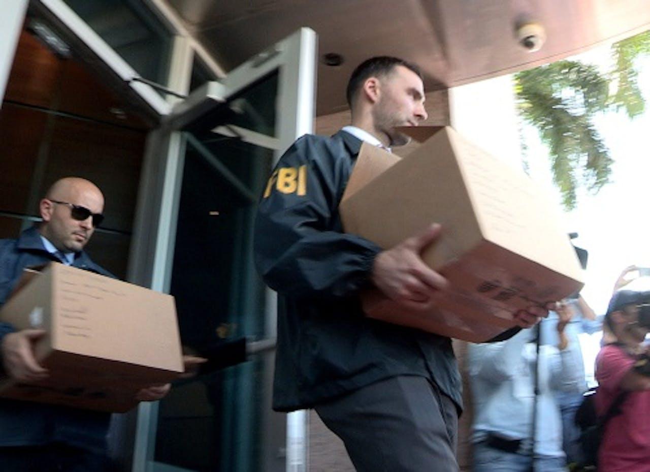 De FBI neemt zaterdag documenten in beslag in het kader van het onderzoek naar de CONCACAF.