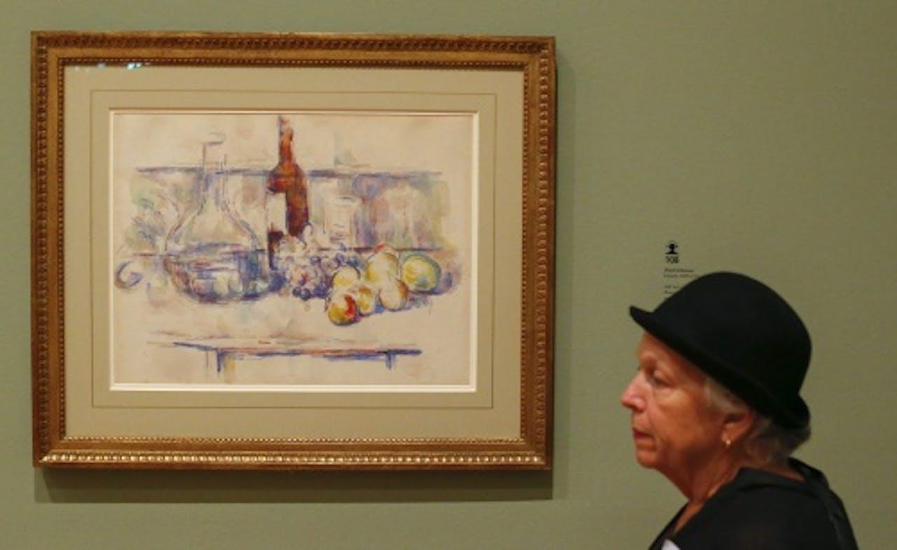 Ander werk van Cézanne (EPA)