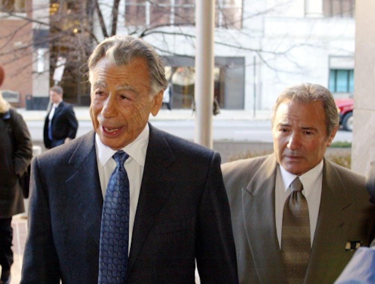 Kirk Kerkorian (L). Archieffoto EPA