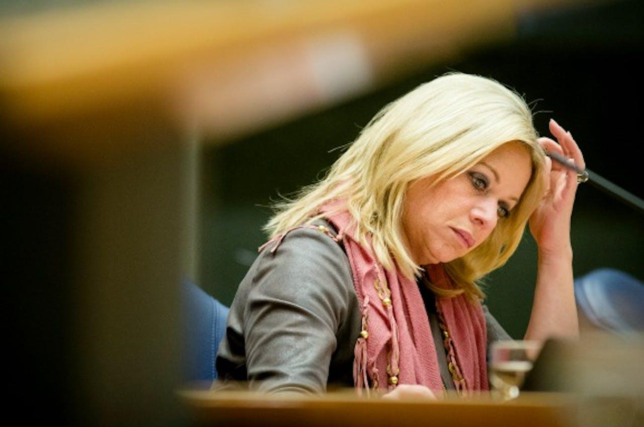 Foto: ANP - Minister Hennis van Defensie