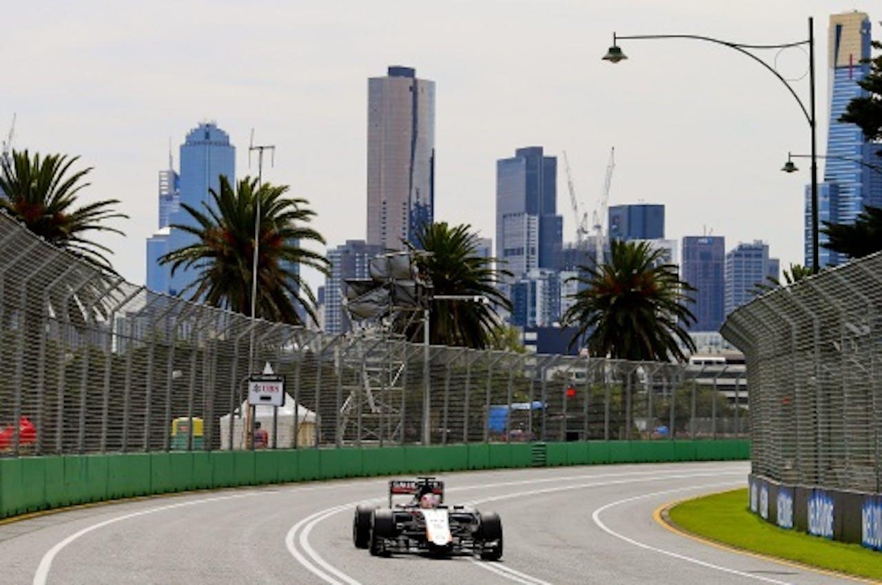 Archiefbeeld van het circuit in Melbourne. EPA