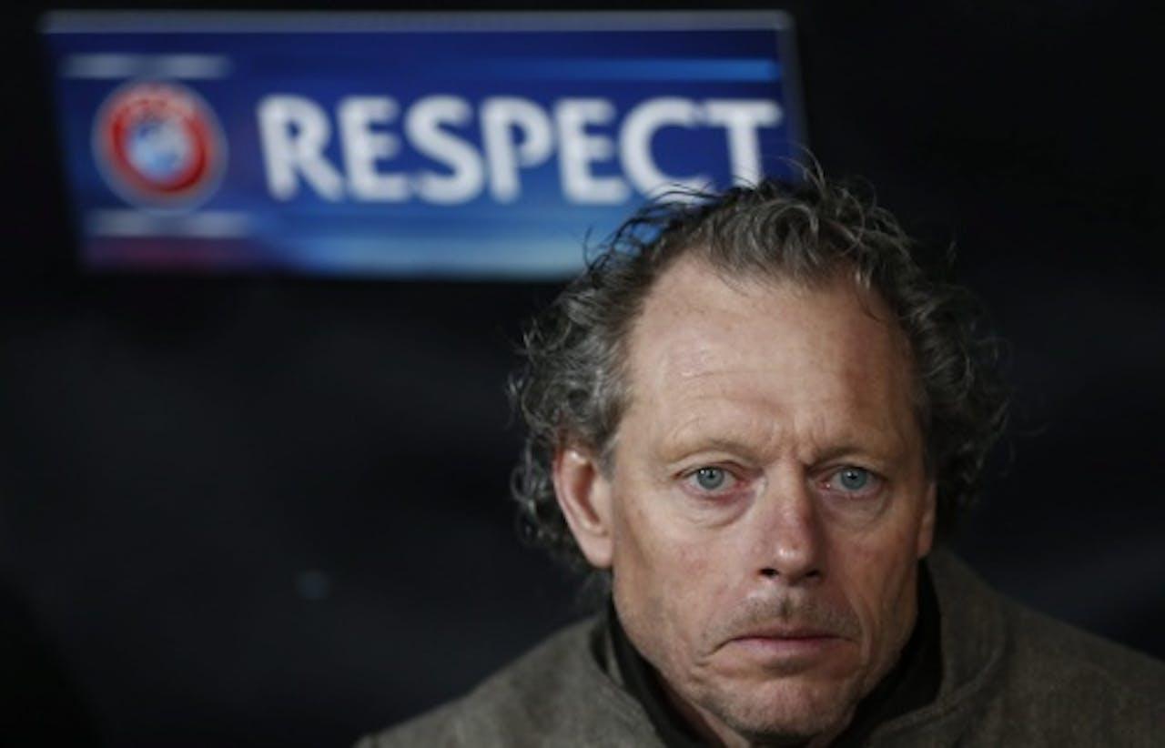 Club Brugge-coach Michel Preud'homme. EPA