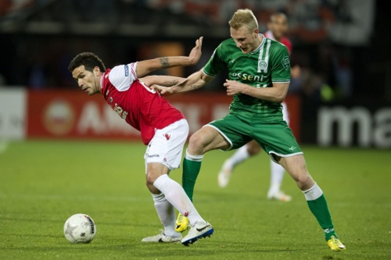 Nick van der Velden (R). ANP